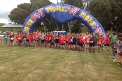 excited start line