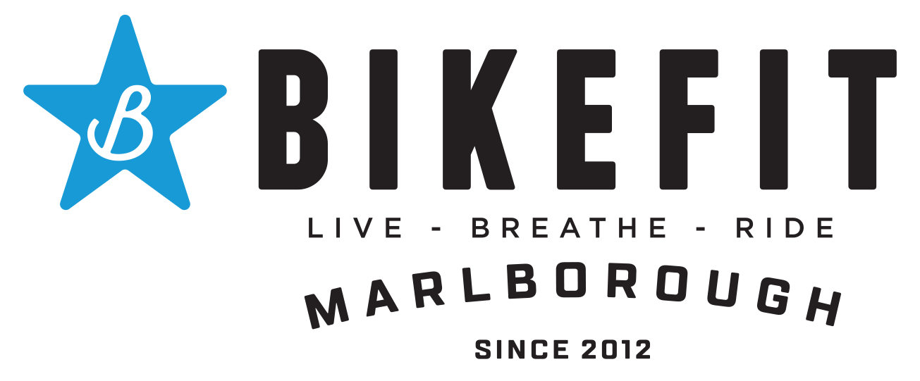 BikeFit logo horiz col